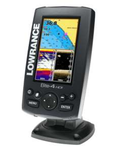 Lowrance Elite -4 Ice Machine